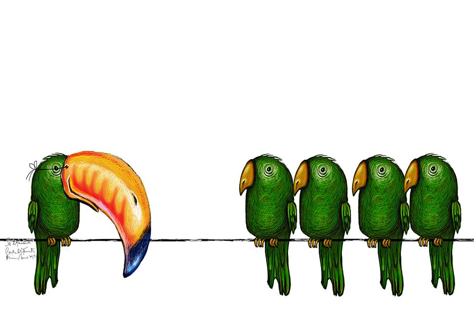 Obra La máscara de Carlos Michel Fuentes