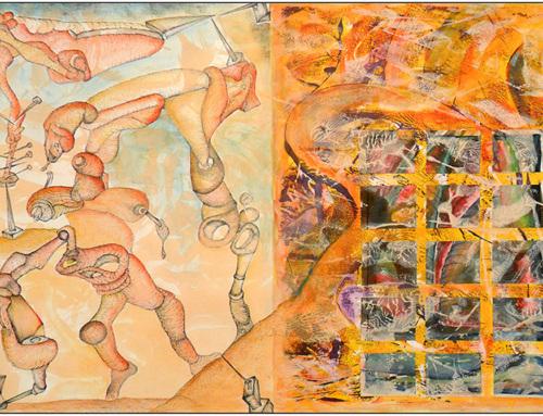 Exposición individual «Esquizografías» de Aristides Rosell en el Sporting Club Russafa