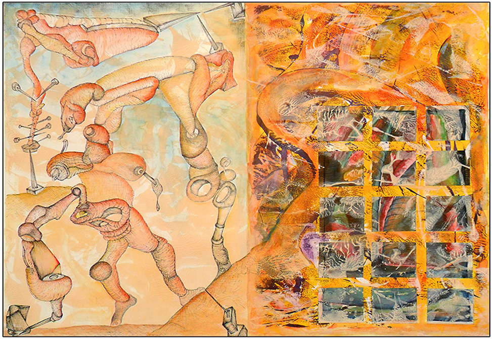 Obra Dibujo esquizográfico de Aristides Rosell