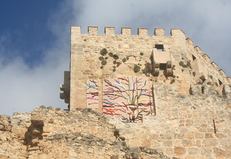 Obra de Ferran Capilla Intervención en el castillo de PARACUELLOS