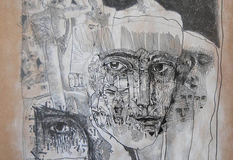 Obra Trazografias de Alfonso Renza
